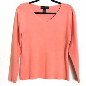 Bloomingdale's | Petite Concepts Cotton Shirt Sz L